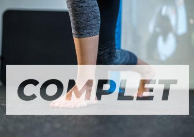 Le gainage et le renforcement du pied