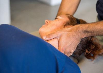 Thérapie manuelle et rééducation du patient cervicalgique