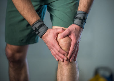 Le genou du sportif